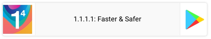 Link Play Store 1.1.1.1: Faster & Safer