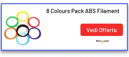 8 Colours Pack ABS Filament