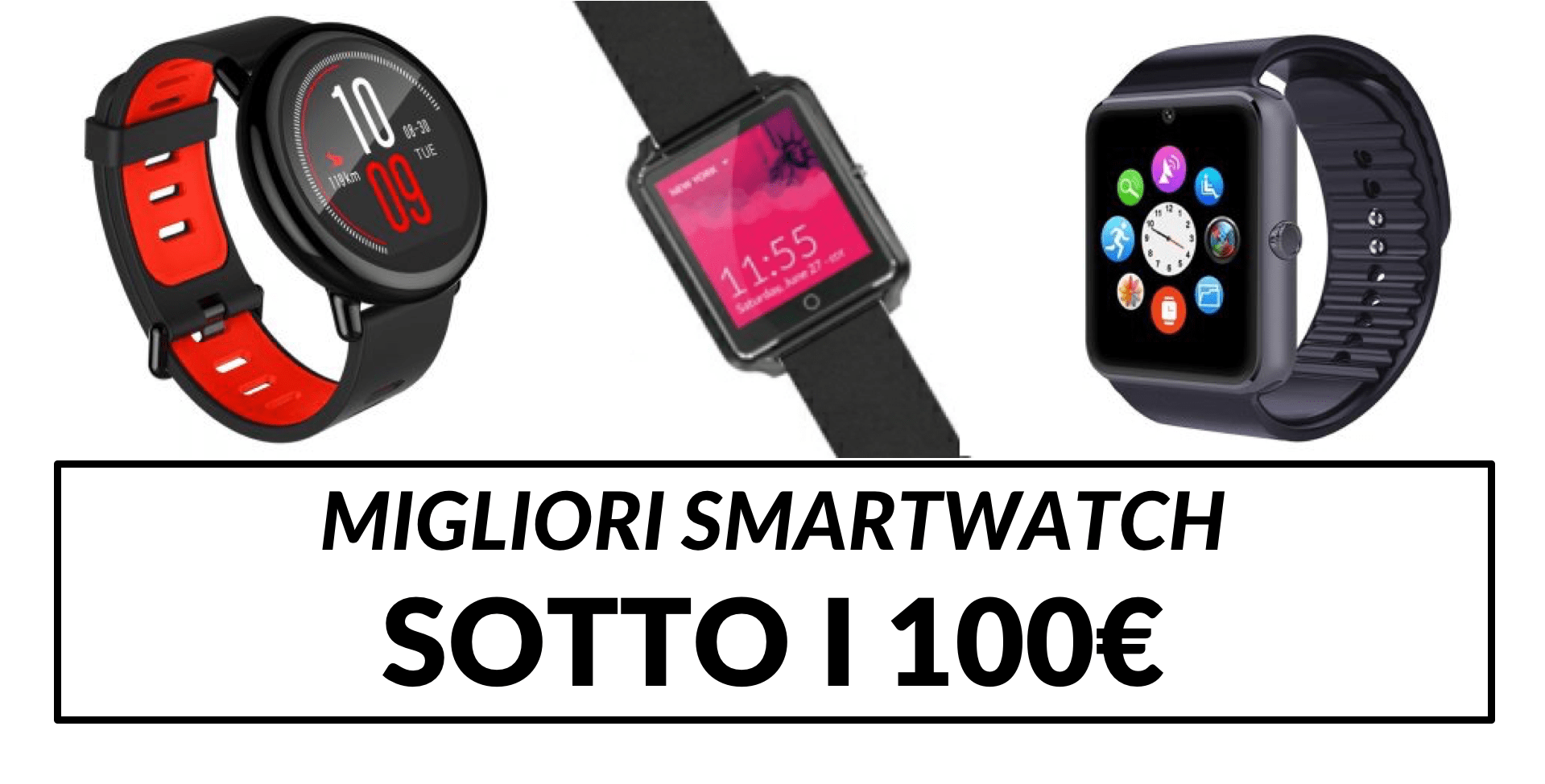 miglior orologio running 100 euro