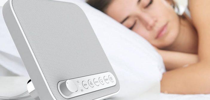 Macchine del sonno: il rumore bianco per insonorizzare le nostre notti