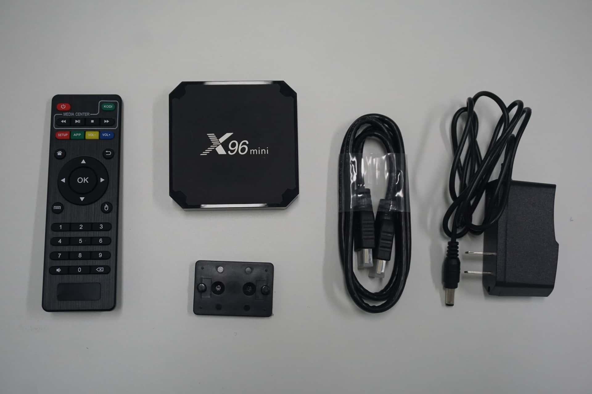 x96 mini tv box Android box content