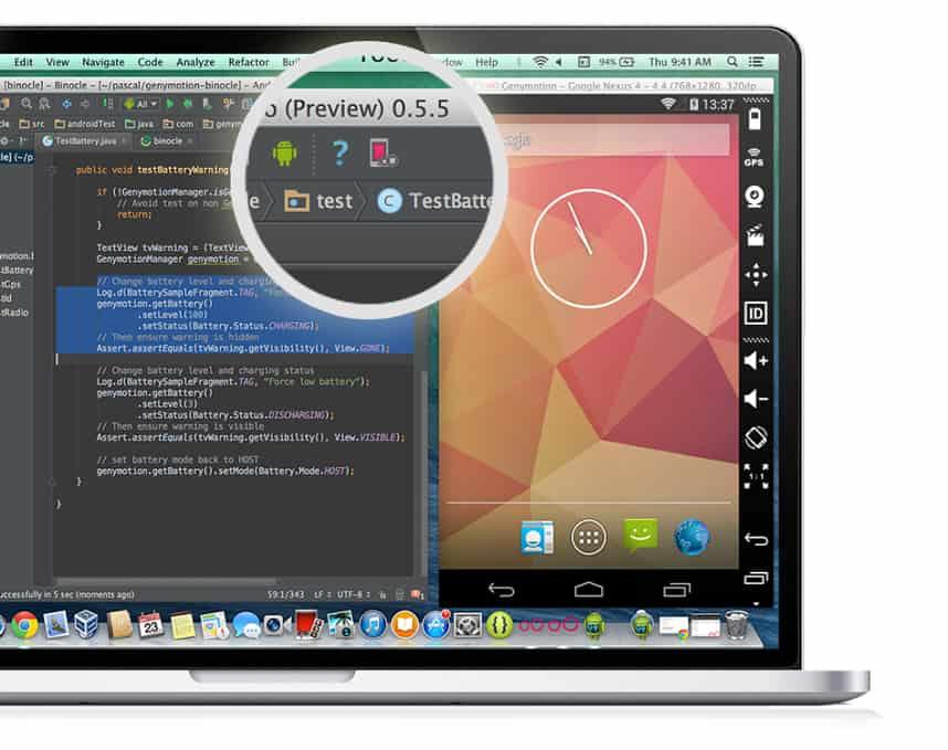 emulatori Android mac genymotion