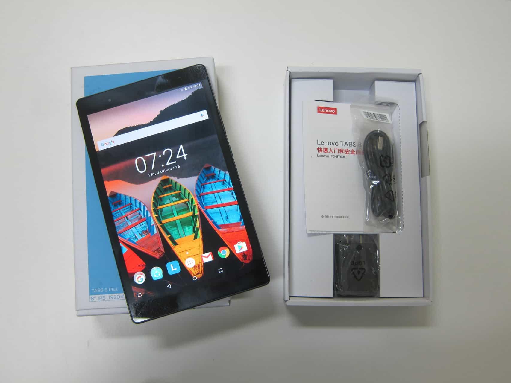 Recensione Lenovo P8 TAB 3 8 Plus TB 8703X tablet Wi Fi e 4G