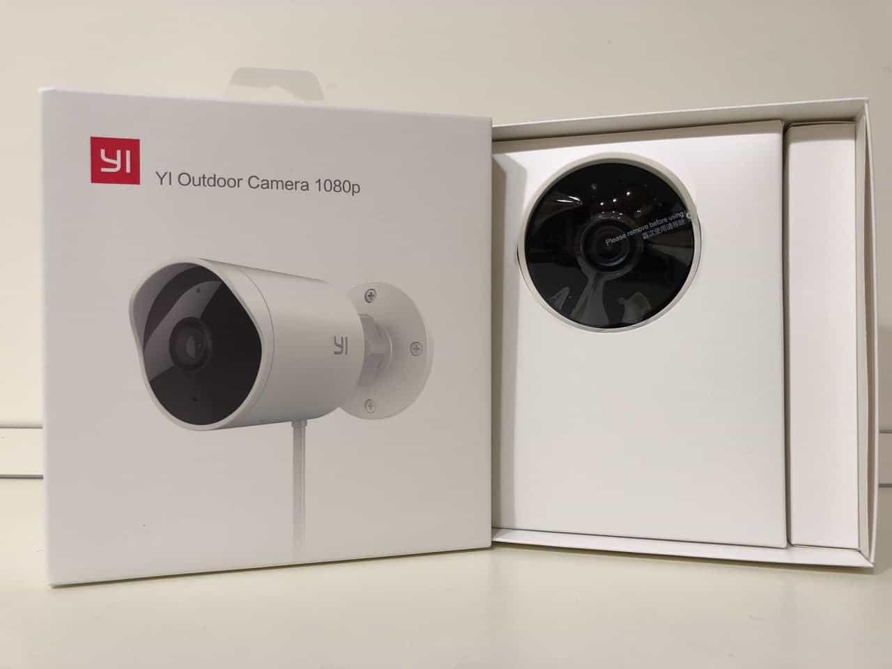 Yi outdoor camera 1080 videocamera di sicurezza da for Microfono esterno xiaomi yi