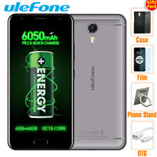 "6050mAh ULEFONE POWER2 5.5"" 4G CELLULARI 4GB/64GB OctaCore Android7.0 SMARTPHONE"