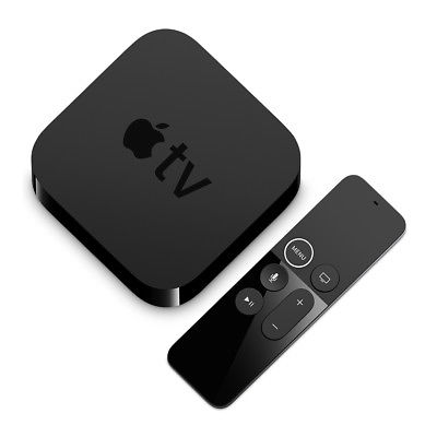 Apple Tv Media Player 4° Generazione Full HD Wifi LAN Bluetooth HDMI MR912QM/A