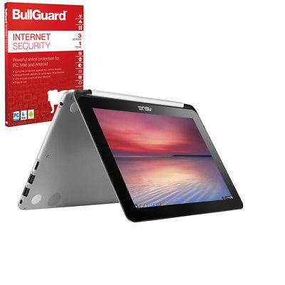 "ASUS Chromebook Flip C100PA 10.1"" Convertible 2-in1 Laptop, 4GB RAM, 16GB eMMC"