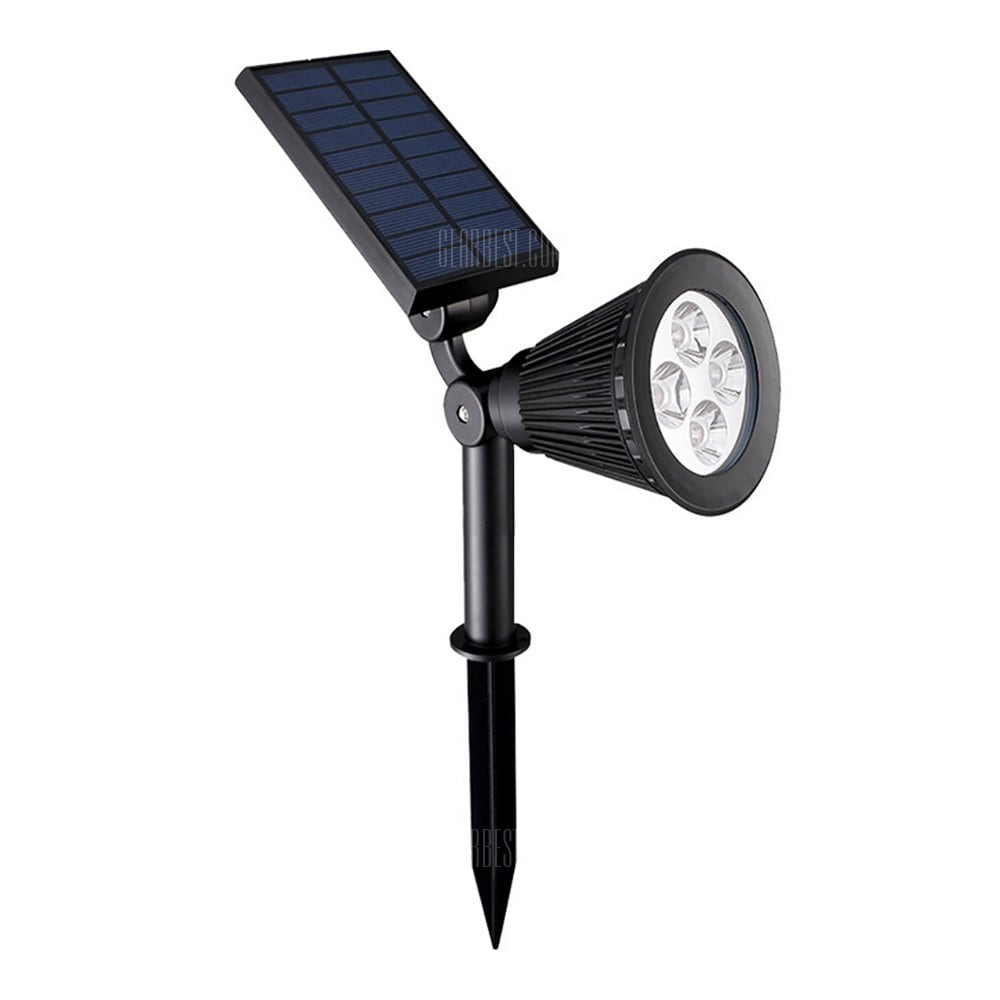 BRELONG Outdoor Light Sensor Solar Energy Spotlight