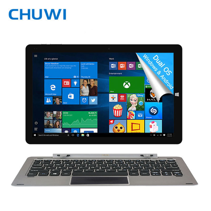 CHUWI 12 Pollici Tablet PC Intel Atom Z8350 Windows10 Android 5.1