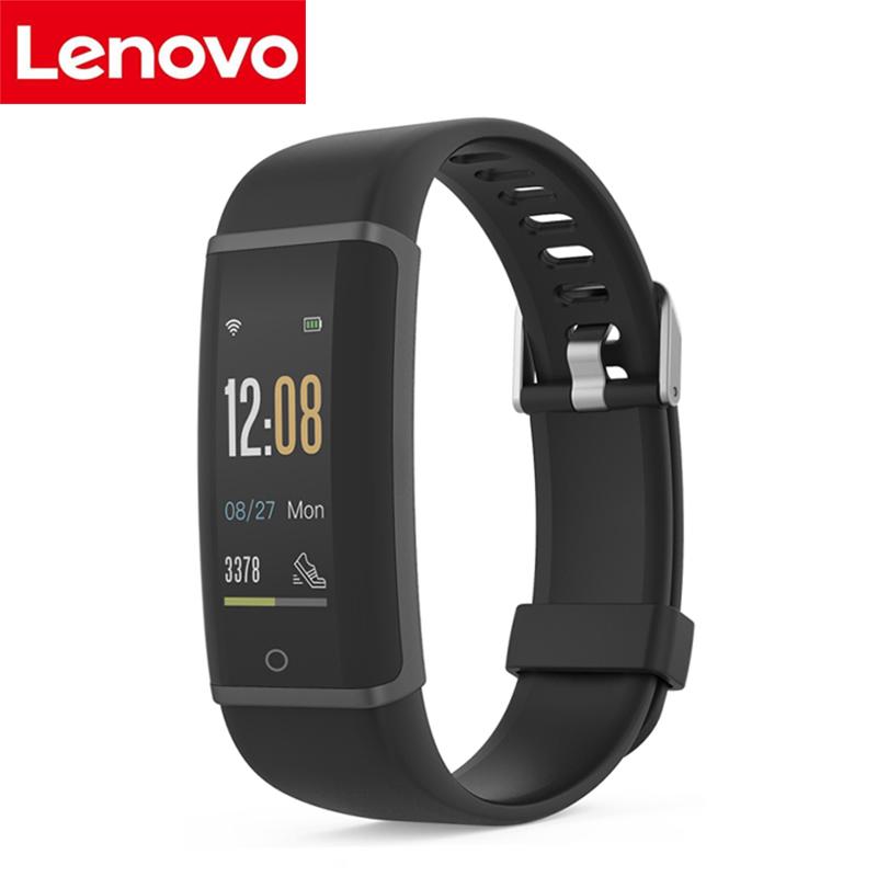 Lenovo HX03F Intelligente Wristband IP68 Impermeabile Inseguitore Palestra Braccialetto Intelligente Bluetooth 4 Heart Rate Banda Monitor Per IOS Android