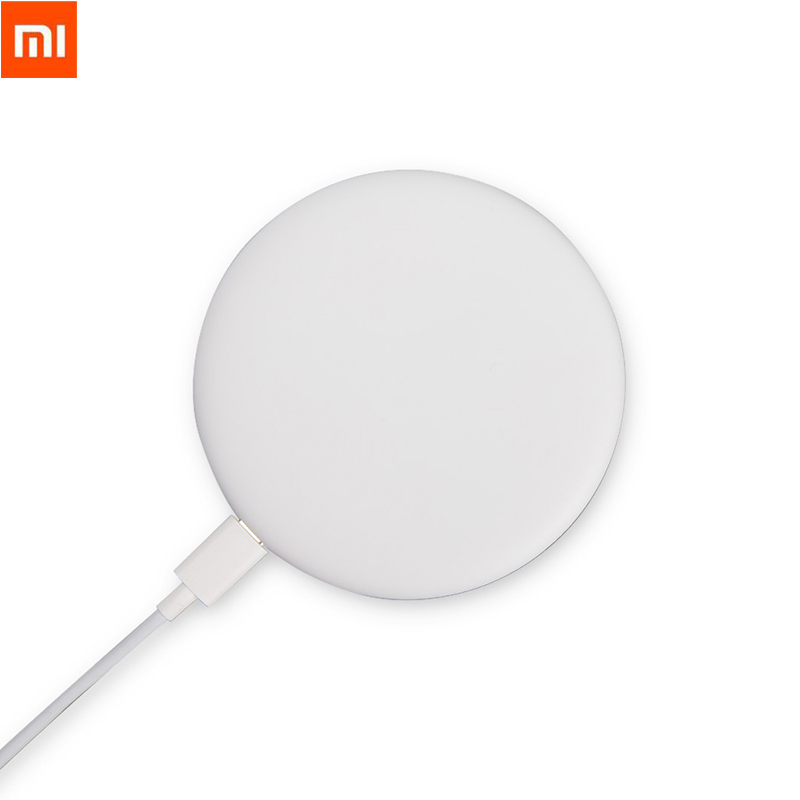 Original Xiaomi Wireless Charger Qi Smart 7.5W Quick Charge Type-C Fast Charger for MIX 2S iPhone X 8 plus Sumsung S8 Smartphone