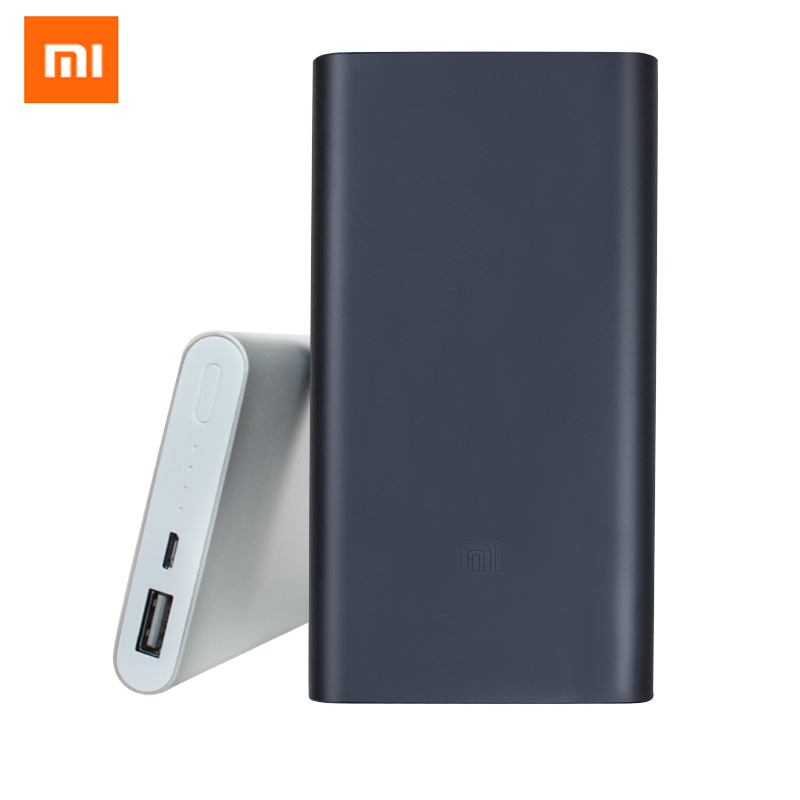 Originale Xiaomi Power bank 2 10000 mAh 18650 batteria Powerbank Portatile batteria esterna Micro usb Per il iphone 5 6 7 mobile telefoni