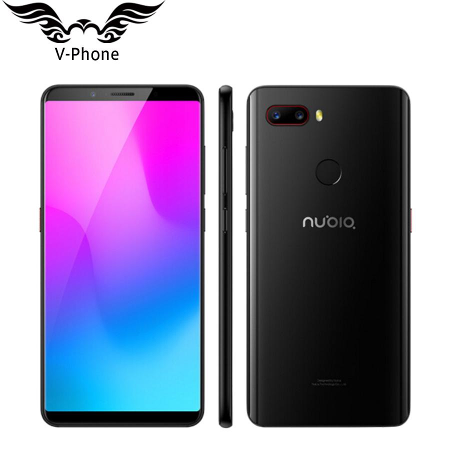 "Originale ZTE Nubia Z18 mini 5.7"" 6 GB di RAM 128 GB ROM Snapdragon 660 AIE Octa Core 24MP Fotocamera"