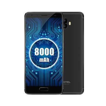 Oukitel K8000 5.5 Inch AMOLED 8000mAh Battery 9V2A 4GB RAM 64GB ROM MT6750T Octa Core 4G Smartphone
