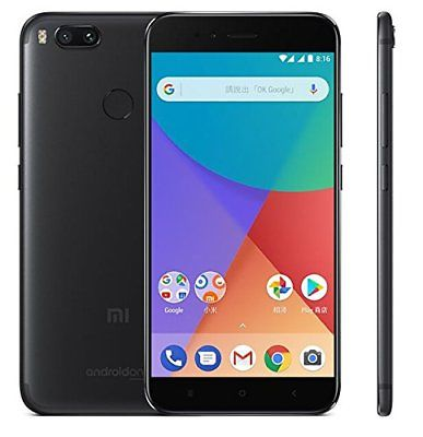 "XIAOMI MI A1 32GB DUAL SIM BLACK NERO GLOBAL 4GB RAM 5.5"" 12+5 MPX 32 GB"