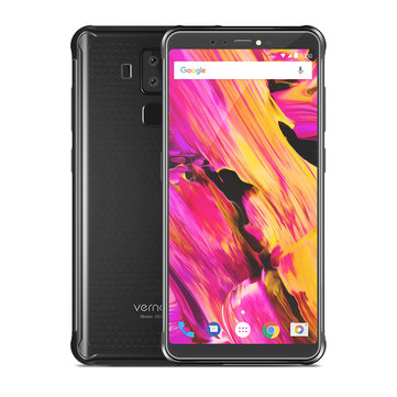 Vernee V2 Pro Global Bands 5.99 inch FHD+ Android 8.1 IP68 6GB RAM 64GB ROM MT6763 4G Smartphone