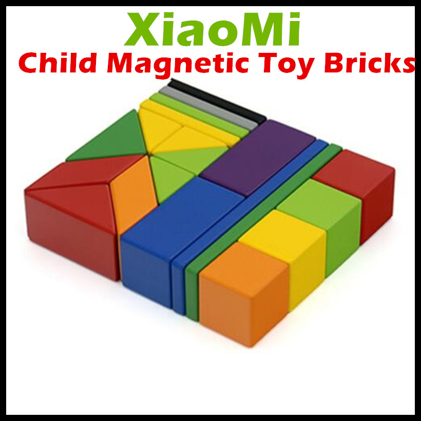 2017 Xiaomi Mitu Child Magnetic Building Block Robot Mitu Magnetic Toy Bricks Designer Magnetic Toys Children's Birthday Gift