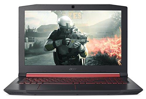 """Acer Nitro 5 AN515-51-720N Notebook da 15.6"""", i7-7700HQ, 1 TB DDR4 SDRAM, 256GB Intel PCIe SSD, 16 GB RAM DDR4, GeForce GTX 1050, 4GB GDDR5, Nero [Layout Italiano]"""