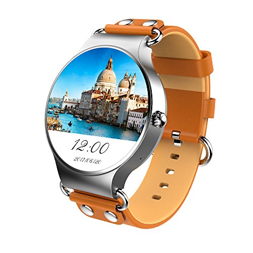 Android 5.1 Smart Watch KW98 Bluetooth 4.0 GPS Wifi compatibile con sistema IOS Android