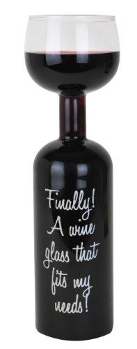 BigMouth Inc Vetro Bottiglia di Vino Finale