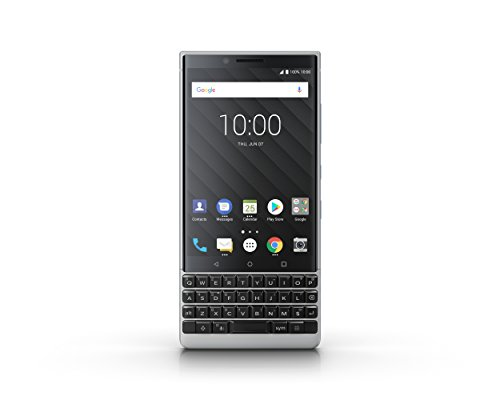 Blackberry Key2 Smartphone, Memoria Interna da 64 GB, Argento [Italia]