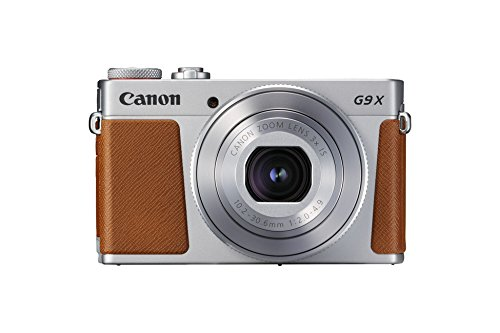 Canon PowerShot G9 X Mark II, Marrone/Argento