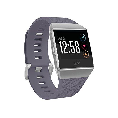 Fitbit Ionic Health & Fitness, Smartwatch Unisex – Adulto, Grigio Blu e Grigio Argento, Taglia Unica