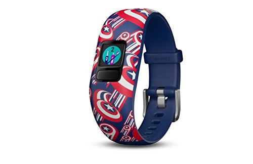 Garmin Vivofit Jr2 Activity Tracker per Bambini, Capitano America