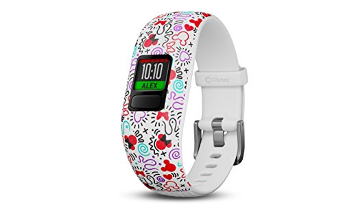 Garmin Vivofit Jr2 Adjustable Activity Tracker per Bambini, Minnie Mouse