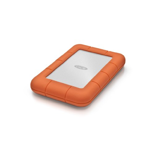 LaCie Rugged MINI Hard disk Esterno, Arancione/Grigio,1TB