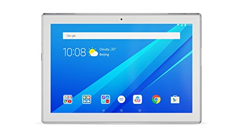 "Lenovo TAB 4 Tablet da 10,1"" 1280x800 IPS, 2GB RAM, 16GB ROM, Snapdragon 425, WiFi, Bluetooth 4.0, Android 7.1, Bianco"