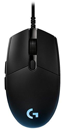 Logitech G Pro Mouse di Gioco Edizione Torneo Usato da Esport Players, RGB, 6 Pulsanti Programmabili, Nero