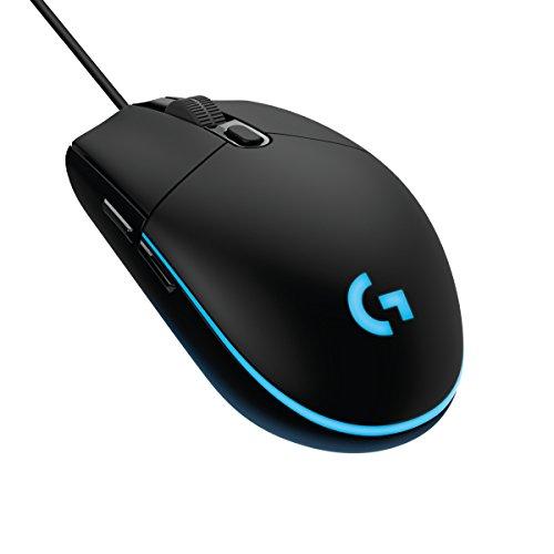 Logitech G203 Mouse da Gioco, Cablato con Sensore Ottico, 6.000 Dpi, Nero