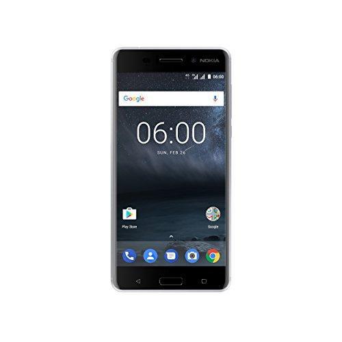Nokia 6 Smartphone, 32 GB, Argento [Italia]