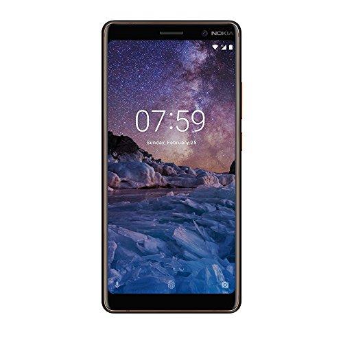 """Nokia 7 Plus 4G 64GB Copper, White - Smartphones (15.2 cm (6""""), 64 GB, 12 MP, Android, O, Copper, White)"""