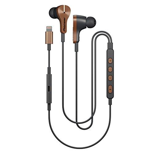 Pioneer Rayz Plus intelligente auricolari a cancellazione di rumore Talk solo mentre ricarica, auricolari con Apple 2nd generation Lightning audio Technology