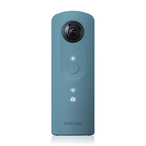 Ricoh Theta SC Bianco 360gradi pieno sfera fotocamera (2X 12MP, Video Full HD, 8GB di memoria interna, lichtstarkes obiettivo F 2.0)