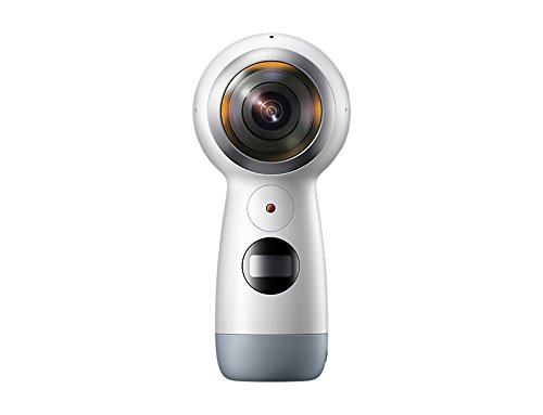 Samsung GEAR 360 2017 Videocamera 15 megapixel e Fotocamera 360 ° (4 K, Bluetooth V4.1, Batteria da 1160 mAh, Memoria fino a 256 GB) [Italia]