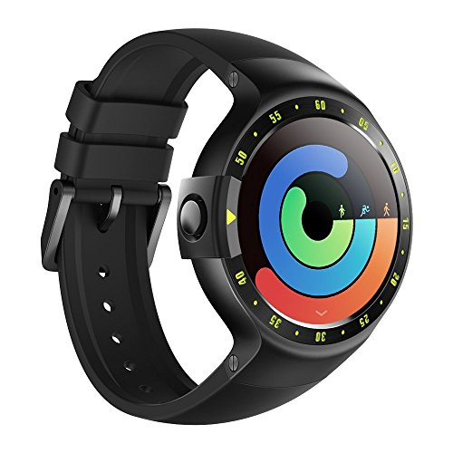 Smart Watch Ticwatch S Knight, Display OLED 1,4 pollici, Compatibile con iOS e Android, Android Wear 2.0, Il Tuo Compagno Sportivo
