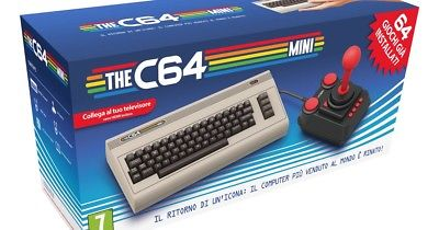 THE C64 MINI - COMMODORE 64 MINI - NUOVA CONSOLE GAME / COMPUTER / USB / HDMI