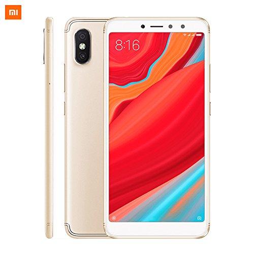 Xiaomi Redmi S2, Smartphone da 5,99 pollici, Octa Core, 32 GB ROM, 3 GB RAM, 12 MP Camera, Doppia SIM, Oro
