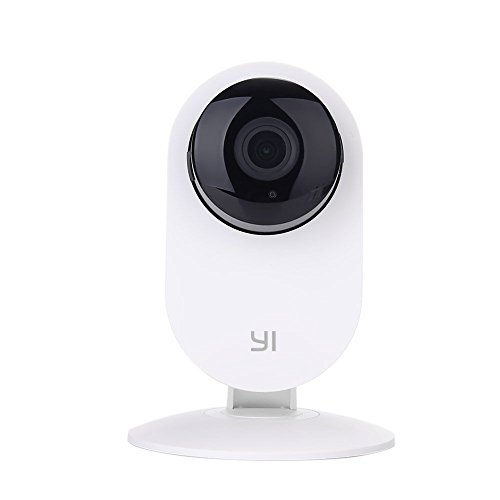 YI Camera IP Telecamera di Sorveglianza Wireless 720p Videocamera di Sicurezza da Interno WiFi - Home Camera HD con Sensore di Movimento e Controllo Remoto Servizio Cloud Disponibile (Bianca)
