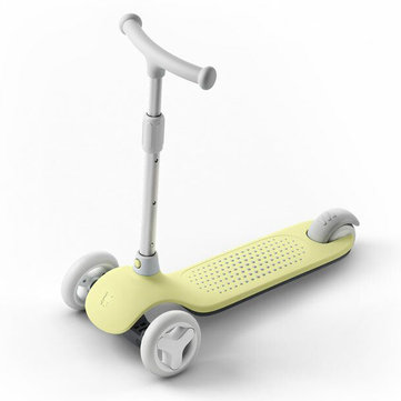 XIAOMI Mitu Children Scooter Adjustable Height 3 Wheels Balance Exercise Toys for Age 3-6 Flashing Wheels