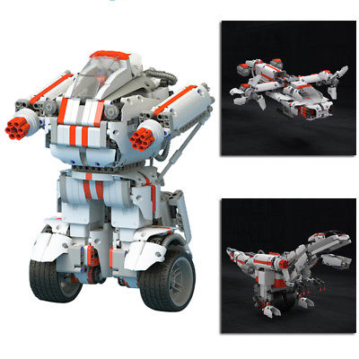 XIAOMI MITU DIY MOBILE PHONE CONTROL SELFASSEMBLE ROBOT FOR KIDS TOY GIFT