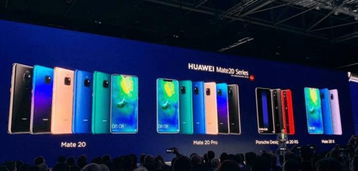 Il riepilogo più completo sui nuovi Huawei Mate 20