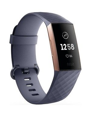 Fitbit charge 3 Grey Blue/Rose Gold