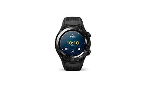 Huawei Watch 2 Smartwatch LTE, Cinturino in Carbonio, Nero
