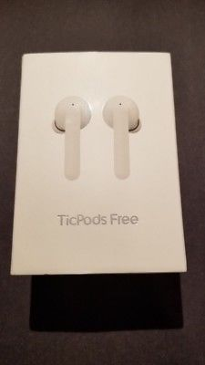 New TicPods Mobvoi: Most Interactive Wireless Earbuds White