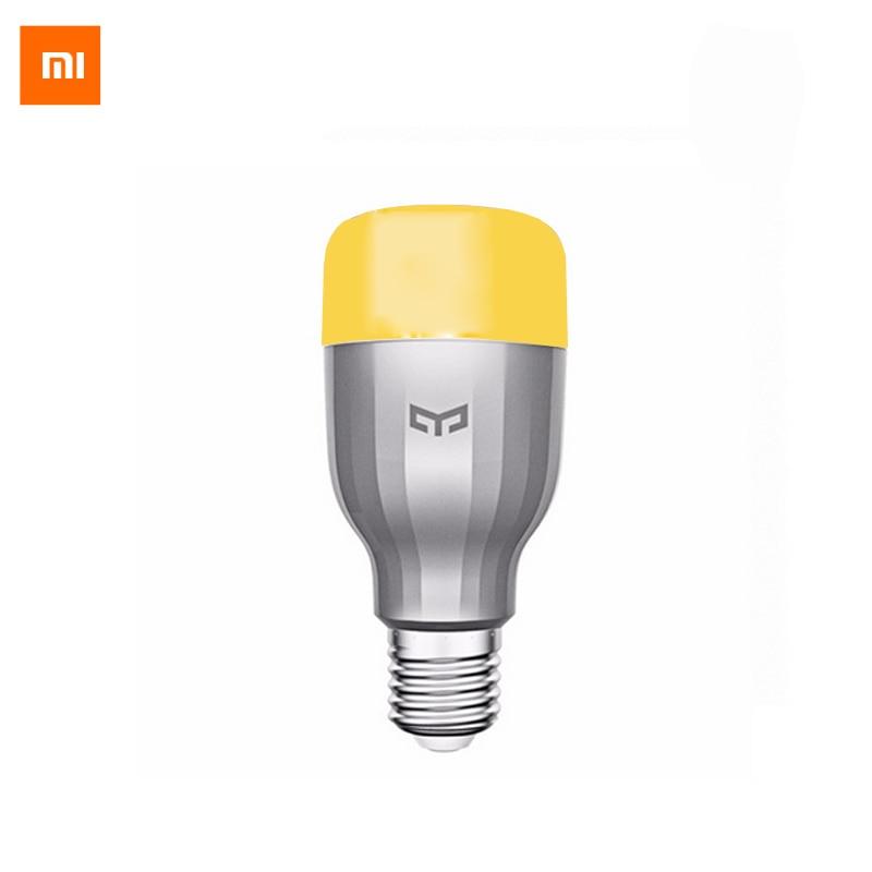Originale Xiaomi Mi Notte Yeelight Luce Intelligente HA CONDOTTO LA Lampada Wifi Telecomando RGB E27 Colorful illuminazione Casa Intelligente HA CONDOTTO LA Lampadina