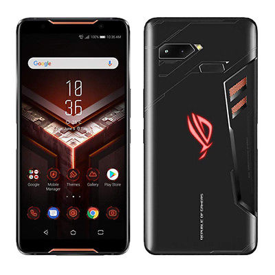 Asus ROG Phone ZS600KL Dual 8GB RAM 128GB Black Gaming Ship in EU